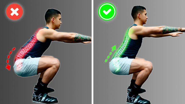 Gấp đùi - Bài tập thể thao giúp kiểm tra sức khỏe xương sống thắt lưng.